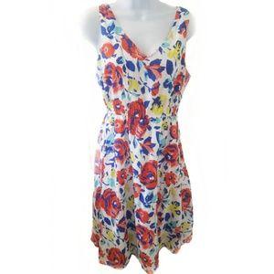 Old navy floral print V Neck Sleeveless Dress
